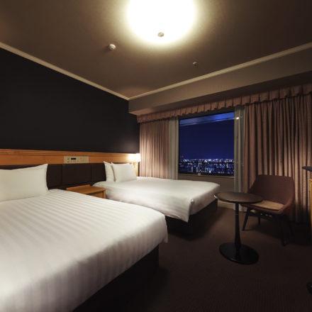 ホテルアゴーラ大阪守口 客室撮影