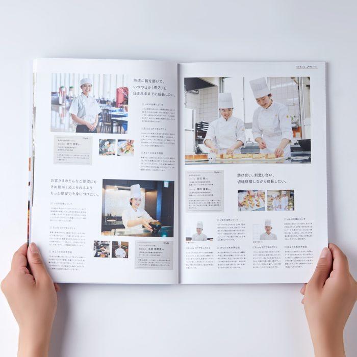 神戸国際調理製菓専門学校様<br>ビジュアル撮影 3