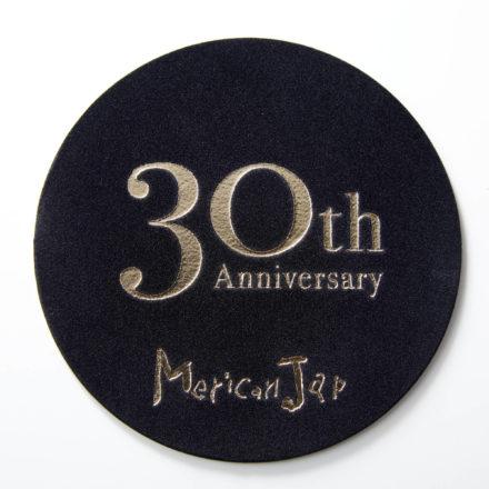 Merican Jap(メリケンジャップ) 30周年 記念コースター 制作